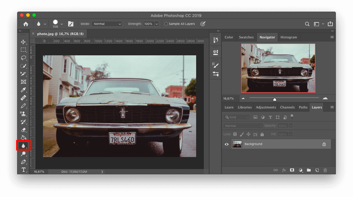 Adobe Photoshop Image View